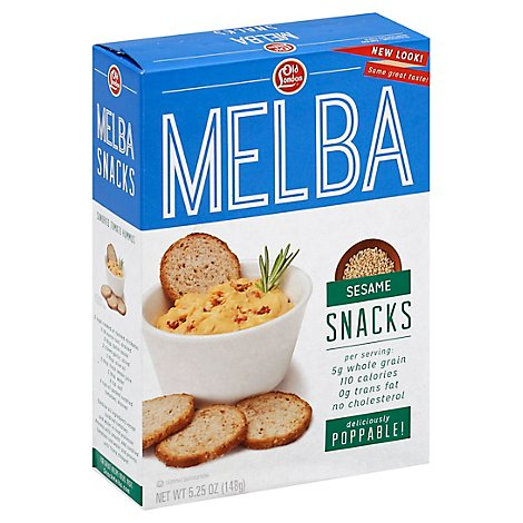 Old London Melba Snacks Sesame - 5.25 Oz