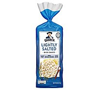 Quaker Rice Cakes Gluten Free Lightly Salted - 4.47 Oz
