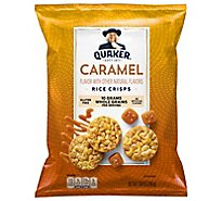 Quaker Popped Rice Crisps Gluten Free Caramel - 7.04 Oz