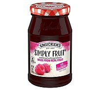 Smuckers Simply Fruit Spreadable Fruit Red Raspberry - 10 Oz