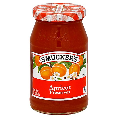 Smuckers Preserves Apricot - 18 Oz
