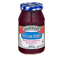 Smuckers Sugar Free Preserves Red Raspberry - 12.75 Oz
