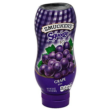 Smuckers Squeeze Jelly Grape - 20 Oz