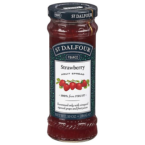 St. Dalfour Fruit Spread Deluxe Strawberry - 10 Oz