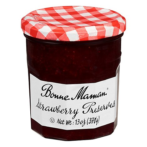 Bonne Maman Preserves Strawberry - 13 Oz