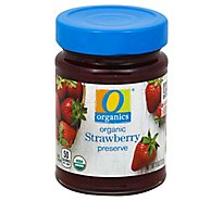 O Organics Organic Preserves Strawberry - 11 Oz