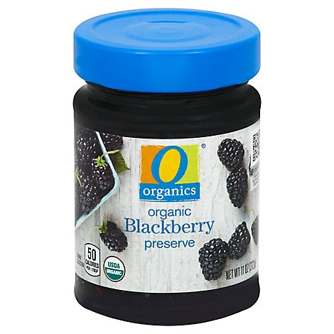 O Organics Organic Preserves Blackberry - 11 Oz