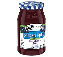 Smuckers Sugar Free Jam Seedless Blackberry - 12.75 Oz