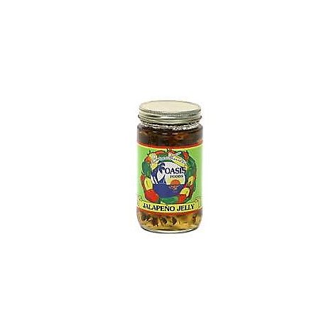 Oasis Foods Jalapeno Jelly - 10 Oz