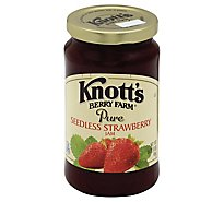Knotts Berry Farm Jam Pure Seedless Strawberry - 16 Oz