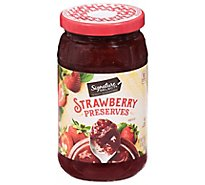Signature SELECT/Kitchens Preserves Strawberry - 18 Oz