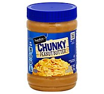 Signature SELECT Peanut Butter Chunky - 28 Oz