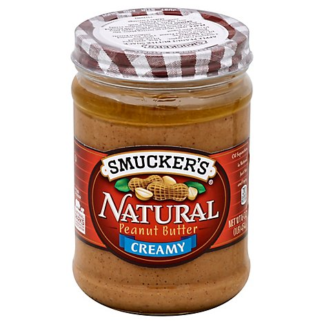 Smuckers Natural Peanut Butter Creamy - 16 Oz