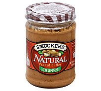 Smuckers Natural Peanut Butter Chunky - 16 Oz