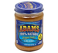 Adams Peanut Butter Creamy - 16 Oz