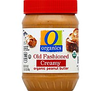 O Organics Organic Peanut Butter Spread Old Fashioned Creamy - 18 Oz