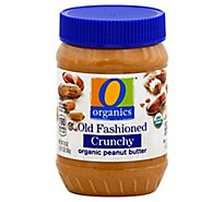 O Organics Organic Peanut Butter Spread Old Fashioned Crunchy - 18 Oz