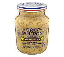 Grey Poupon Mustard Country Dijon - 8 Oz