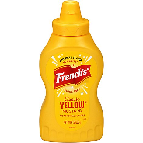 Frenchs Mustard Classic Yellow - 8 Oz