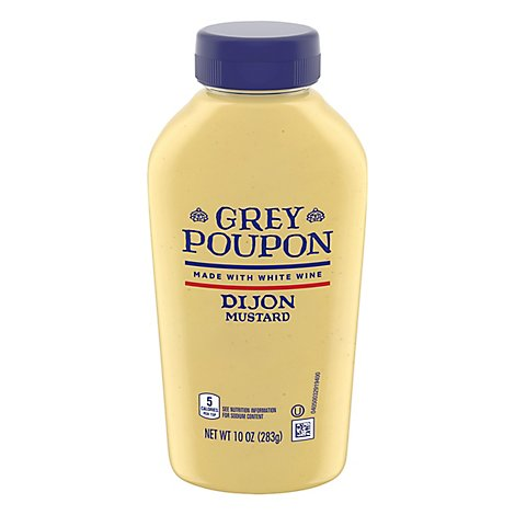 Grey Poupon Mustard Dijon - 10 Oz