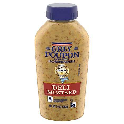Grey Poupon Mustard Deli - 10 Oz