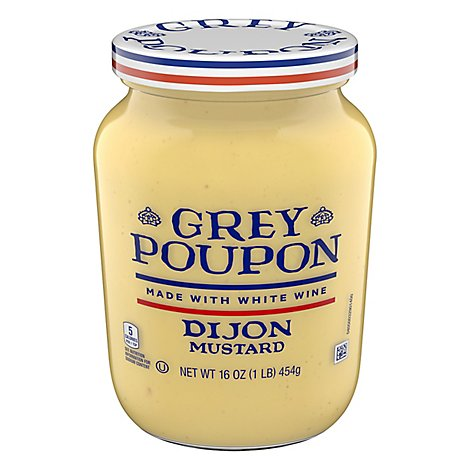 Grey Poupon Mustard Dijon - 16 Oz