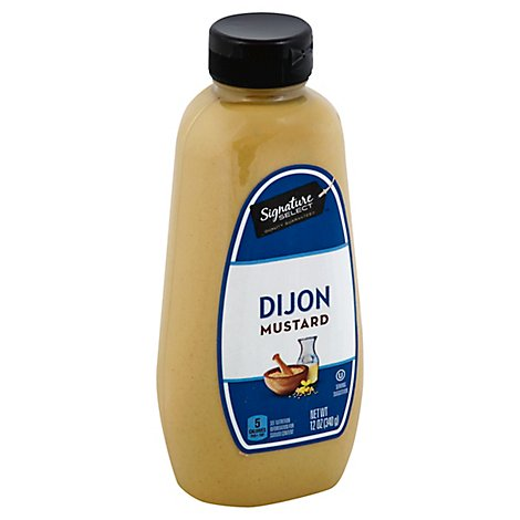 Signature SELECT Mustard Dijon Bottle - 12 Oz