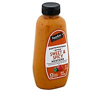 Signature SELECT Mustard Southwestern Style Sweet & Spicy Bottle - 12 Oz