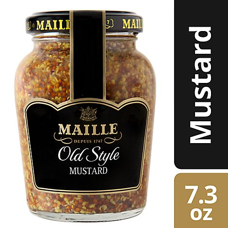 Maille Mustard Dijon Whole Grain Old Style Medium - 7.3 Oz