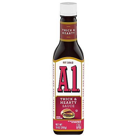 A.1. Sauce Thick & Hearty - 10 Oz