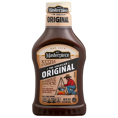 KC Masterpiece Sauce Barbecue Original - 18 Oz