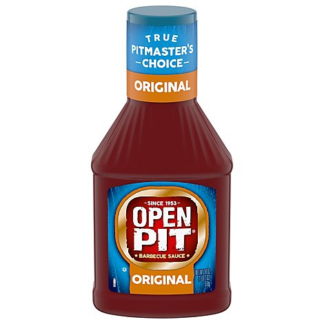 OPEN PIT Sauce Barbecue Original - 18 Oz