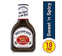 Sweet Baby Rays Sauce Barbecue Sweet n Spicy - 18 Oz