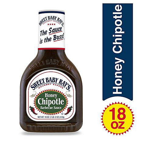 Sweet Baby Rays Sauce Barbecue Honey Chipotle - 18 Oz