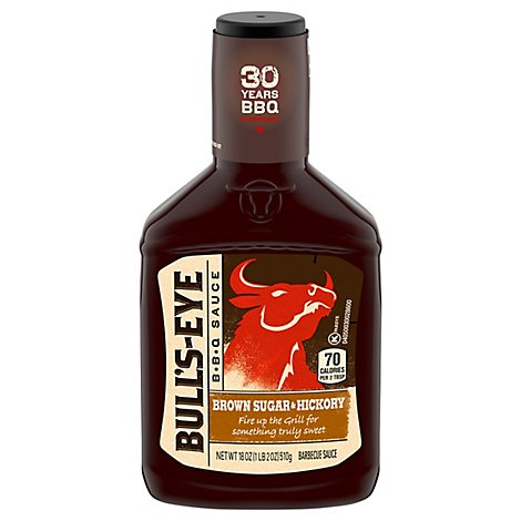 Bulls-Eye Sauce BBQ Brown Sugar & Hickory - 18 Oz