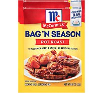 McCormick Bag N Season Cooking Bag & Seasoning Mix Pot Roast - 0.81 Oz