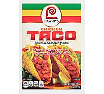 Lawrys Spices & Seasonings Mix Chicken Taco - 1 Oz