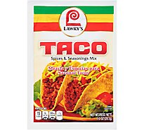 Lawrys Spices & Seasonings Mix Taco - 1 Oz
