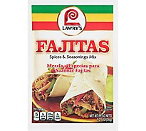 Lawrys Spices & Seasonings Mix Fajitas - 1.27 Oz