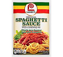 Lawrys Spices & Seasonings Spaghetti Sauce Original Style - 1.5 Oz