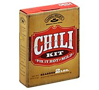 Carroll Shelbys Chili Kit Fix It Hot Mild - 4 Oz