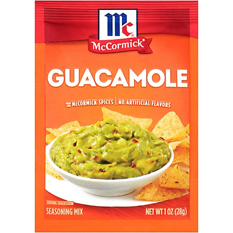 McCormick Seasoning Mix Guacamole - 1 Oz