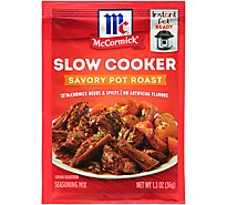 McCormick Slow Cookers Seasoning Mix Savory Pot Roast - 1.3 Oz