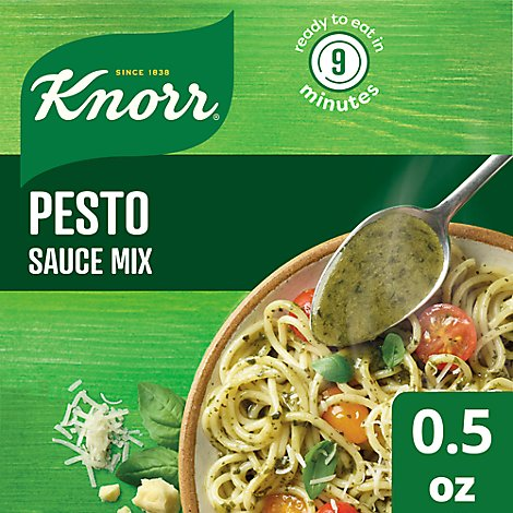 Knorr Sauce Mix Pasta Pesto 0 5 Oz Safeway