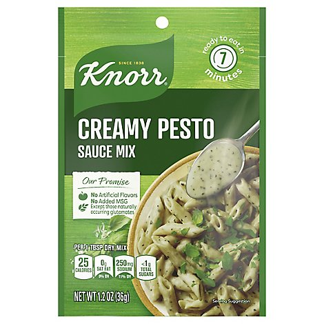 Knorr Sauce Mix Creamy Pesto 1 2 Oz Safeway