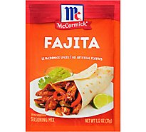McCormick Seasoning Mix Fajita - 1.12 Oz