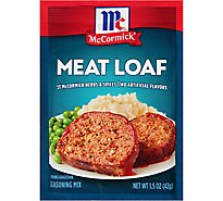 McCormick Seasoning Mix Meat Loaf - 1.5 Oz