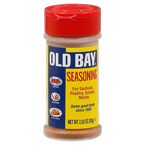 OLD BAY Seasoning Shaker Bottle Seafood - 2.62 Oz