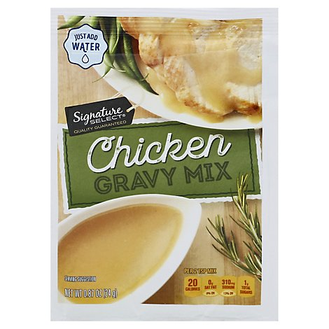 Signature Kitchens Gravy Mix Chicken - 0.87 Oz