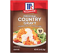 McCormick Gravy Mix Country Gravy Original - 2.64 Oz